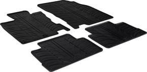 Резиновые коврики Gledring для Nissan Qashqai (mkII) 2014→ - Фото 1
