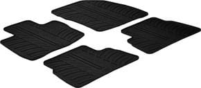 Резиновые коврики Gledring для Honda Civic (mkVIII)(5-дв.) 2006-2011 - Фото 1