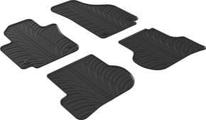 Резиновые коврики Gledring для Seat Altea (mkI) 2004-2015 - Фото 1