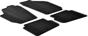 Резиновые коврики Gledring для Skoda Fabia (mkI-mkII) 2002-2014 - Фото 1