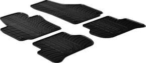 Резиновые коврики Gledring для Skoda Yeti (mkI) 2009-2013 - Фото 1