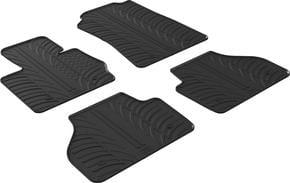 Резиновые коврики Gledring для BMW X4 (F26) 2014-2019 - Фото 1