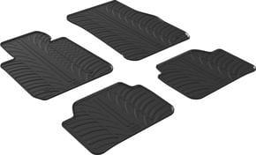 Резиновые коврики Gledring для BMW 1-series (F20/F21) 2011-2019 - Фото 1