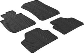 Резиновые коврики Gledring для BMW X1 (E84) 2009-05.2015 - Фото 1