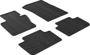 Резиновые коврики Gledring для BMW X3 (E83) 2004-2009 - Фото 1