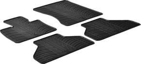 Резиновые коврики Gledring для BMW X5 (E70) 2006-2012 - Фото 1