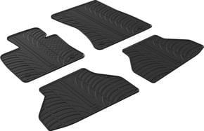 Резиновые коврики Gledring для BMW X6 (E71) 2008-2014 - Фото 1