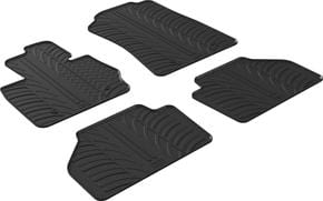 Резиновые коврики Gledring для BMW X3 (F25) 2010-2017 - Фото 1