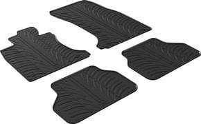 Резиновые коврики Gledring для BMW 5-series (E60/E61) 2004-2009  - Фото 1