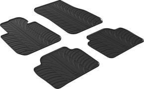 Резиновые коврики Gledring для BMW 3-series (F30; F31; F80) 2012-2019 - Фото 1