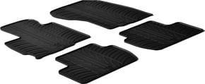 Резиновые коврики Gledring для Mitsubishi Outlander (mkII) 2010-2013 - Фото 1
