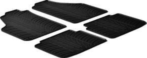 Резиновые коврики Gledring для Fiat Idea (mkI); Lancia Musa (mkI) 2004-2012 - Фото 1