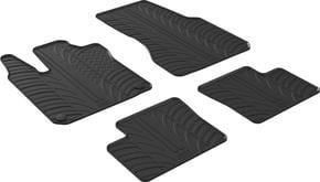 Резиновые коврики Gledring для Smart ForFour (W453) 2014→ - Фото 1