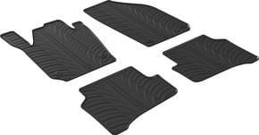 Резиновые коврики Gledring для Skoda Fabia (mkIII) 2014→ - Фото 1