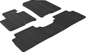Резиновые коврики Gledring для Kia Sorento (mkIII) 2015-2020 АКПП - Фото 1