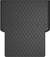 Резиновый коврик в багажник Gledring для Audi A1/S1 (mkI) 2010-2018 (багажник с защитой)