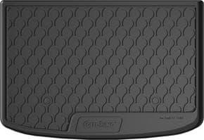 Резиновый коврик в багажник Gledring для Audi A1/S1 (mkI) 2010-2018 (багажник)