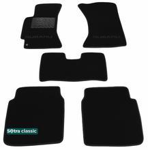 Двухслойные коврики Sotra Classic 7mm Black для Subaru Legacy (mkII-mkIII) / Outback (mkI-mkII) 1994-2003