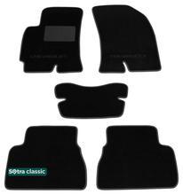 Двухслойные коврики Sotra Classic 7mm Black для Chevrolet Epica (mkI) 2006-2015