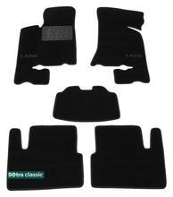 Двухслойные коврики Sotra Classic 7mm Black для Лада Приора (mkI)(2170) 2007-2017
