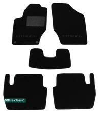 Двухслойные коврики Sotra Classic 7mm Black для Citroen C4 (mkII) 2010-2018 / DS4 (mkI) 2010-2018