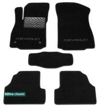 Двухслойные коврики Sotra Classic 7mm Black для Chevrolet Tracker / Trax (mkI) 2013→