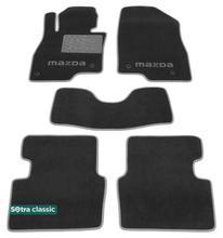 Двухслойные коврики Sotra Classic 7mm Grey для Mazda 3 (mkIII) 2014-2019
