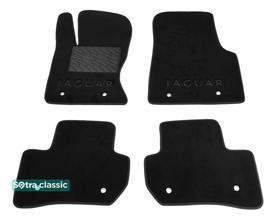 Двухслойные коврики Sotra Classic 7mm Black для Jaguar F-Pace (mkI) 2016→