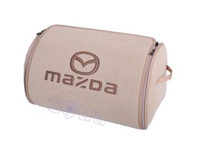 Органайзер в багажник Mazda Small Beige - Фото 1