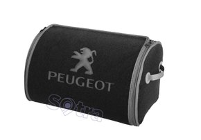 Органайзер в багажник Peugeot Small Grey - Фото 1