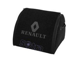 Органайзер в багажник Renault Medium Black - Фото 1
