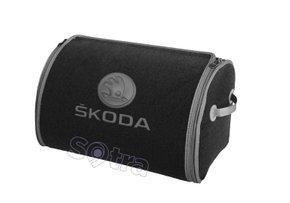 Органайзер в багажник Skoda Small Grey - Фото 1