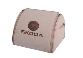 Органайзер в багажник Skoda Medium Beige - Фото 1