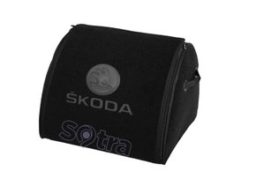 Органайзер в багажник Skoda Medium Black - Фото 1