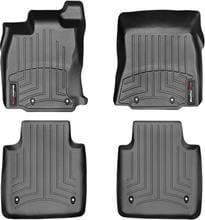 Коврики Weathertech Black для Jaguar XJ (long)(X351)(AWD)(8 fixings) 2010-2019