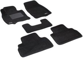 Трехслойные коврики Sotra 3D Premium 12mm Black для Infiniti FX / QX70 (mkII) 2009-2017