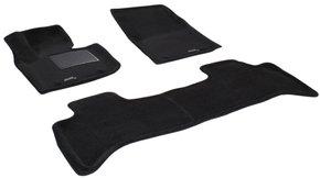 Трехслойные коврики Sotra 3D Premium 12mm Black для Land Rover Range Rover (mkIII) 2002-2012