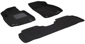 Трехслойные коврики Sotra 3D Premium 12mm Black для Lexus RX (mkIII) 2009-2015