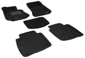 Трехслойные коврики Sotra 3D Premium 12mm Black для Mercedes-Benz E-Class (V212)(long) 2009-2016