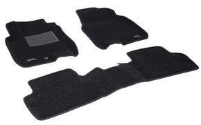 Трехслойные коврики Sotra 3D Classic 8mm Black для Nissan Qashqai (mkI) 2007-2013