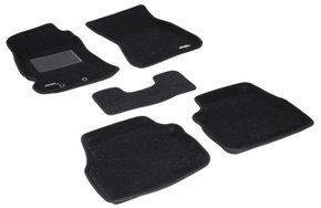 Трехслойные коврики Sotra 3D Classic 8mm Black для Subaru Forester (mkIII) 2008-2013