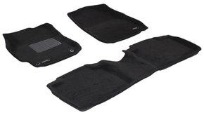 Трехслойные коврики Sotra 3D Premium 12mm Black для Toyota Camry (mkVII)(XV50) 2011-2017
