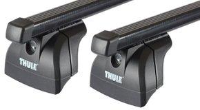 Багажник на интегрированные рейлинги Thule Slidebar для Renault Koleos (mkII) 2016→