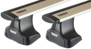 Багажник на гладкую крышу Thule Wingbar для Dodge Durango (mkIII) 2011→ - Фото 1