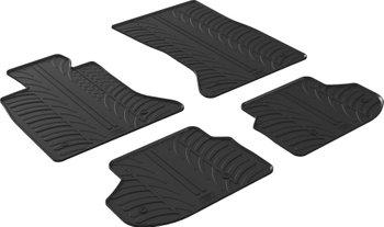 Резиновые коврики Gledring для BMW 5-series (F10/F11) 2010-2017