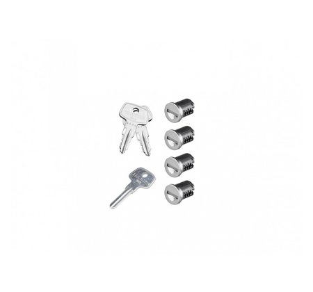 К-т ключей с личинками Yakima SKS Lock 4 Cores Pack