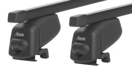 Багажник на интегрированные рейлинги Atera Steel для Opel Astra H (wagon)(mkIII) 2007-2010; Zafira B (mkII) 2008-2013