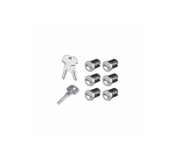 К-т ключей с личинками Yakima SKS Lock 6 Cores Pack