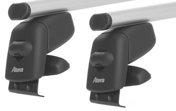 Багажник на гладкую крышу Atera Aluminium для Toyota Auris (5 door)(mkI) 2006-2012