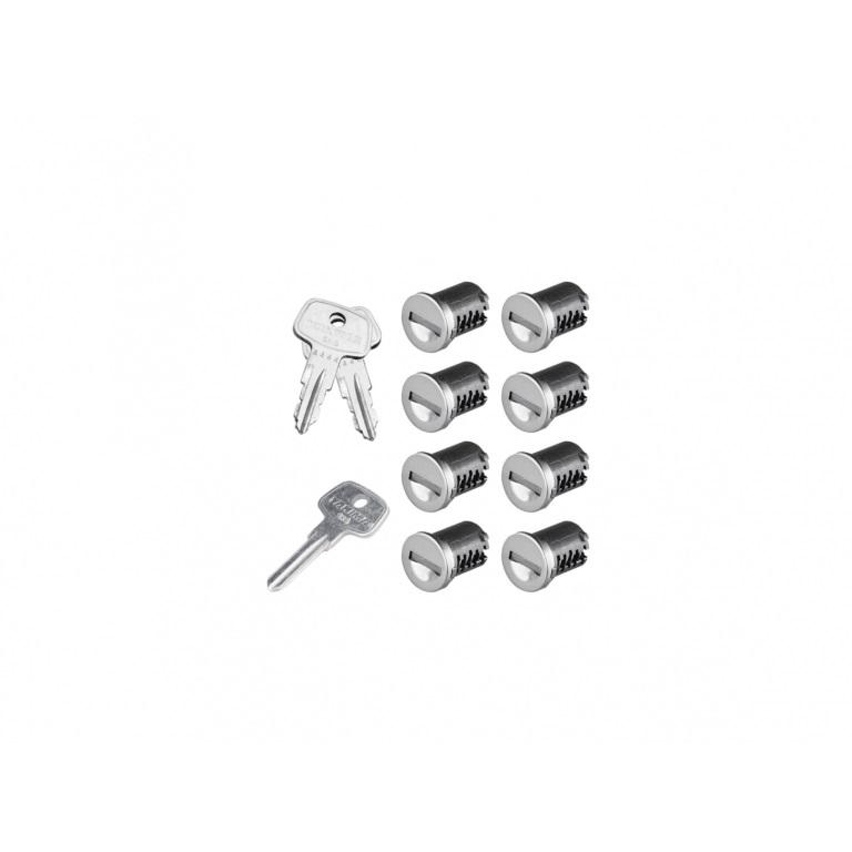 Фото 1: К-т ключей с личинками Yakima SKS Lock 8 Cores Pack